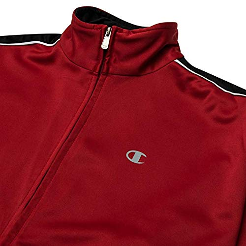 Scarlet Big Track Black Men's and White Jacket Tall Champion p6q7w