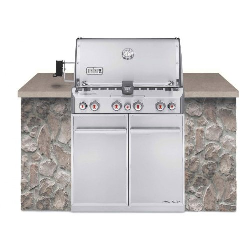 Weber Summit S-460 Built-In Natural Gas in Stainless Steel Grill by Weber