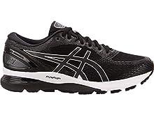 ASICS Men's Gel-Nimbus 21 (4E) Running Shoes, 10.5XW, Black/Dark Grey