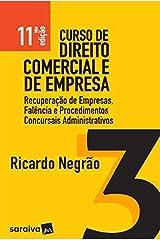 Curso de Direito Comercial e de Empresa - Volume 3 Capa comum