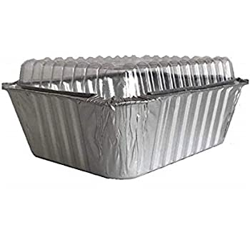 Amazon Com Aluminum Foil Mini 1 Lb Loaf Pan With Clear