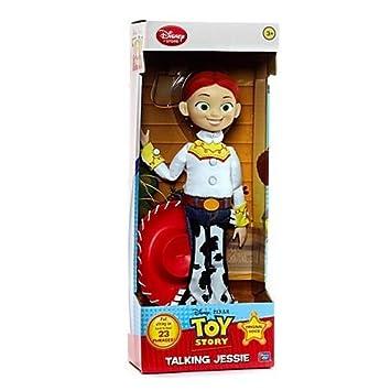 8b8c328970b39 Disney Store Jessie action figure 37cm Toy Story 3 parlante bambola  cowgirl  Amazon.es  Juguetes y juegos