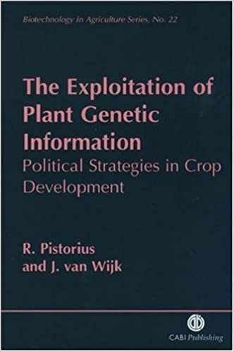 Téléchargements de livres complets gratuits The Exploitation of Plant Genetic Information: Political Strategies in Crop Development (Biotechnology in Agriculture Series) PDF PDB