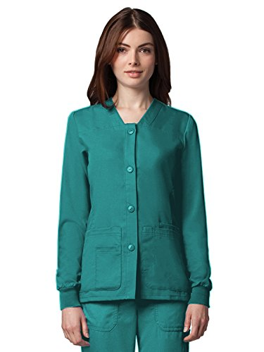 Nursing Scrub Nurse Uniform Jacket - 6