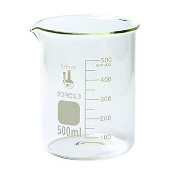 500ml beaker low form griffin borosilicate 3 3 glass graduated