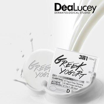 [Vtari] DeaLucey Greek Yogurt 3 in 1 Cleansing Pack (K-Beauty) by DeaLucey