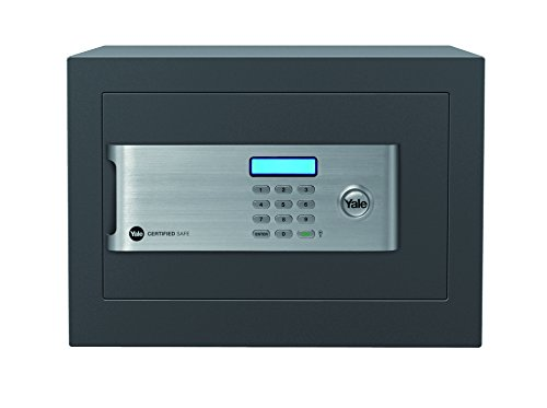 Yale Certified Home Safe - 18L capacity, £2000 cash rating