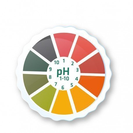 AlkalineCare - 5M pH Paper Roll Litmus Test Paper Strip Roll High Precision PH indicator strips to measure the pH of saliva or urine, check levels of acidity alkalinity in our body Alkaline Care
