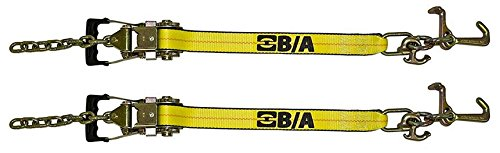 Set of Two BA Products 38-8100-x2 Gradual Release Ratchet with chain tail & strap w/ cluster (set of 2)