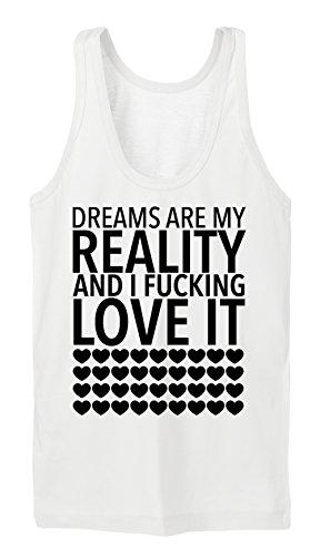Dream Are My Reality Tanktop Girls Bianco