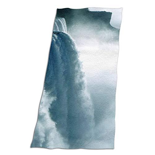 BshaidhSax Microfiber Women's Beach Towel Bath Towel with Niagara Waterfall Canada