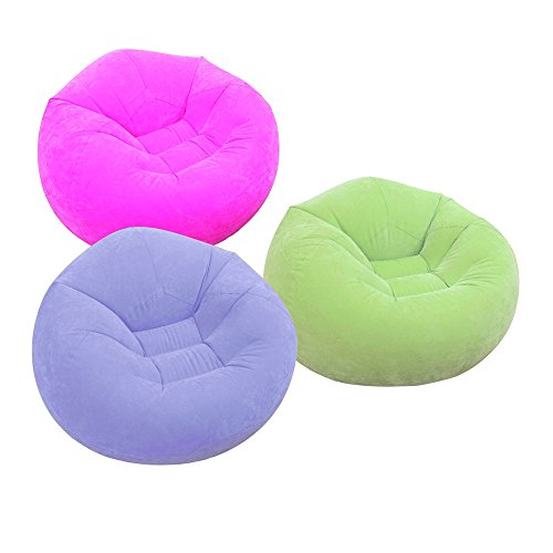Green Indoor Beanless Bean Bag Chair