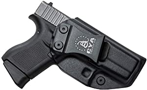 CYA Supply Co. IWB Holster Fits: Glock 43 / Glock 43X - Veteran Owned Company - Made in USA - Inside Waistband Concealed Carry Holster