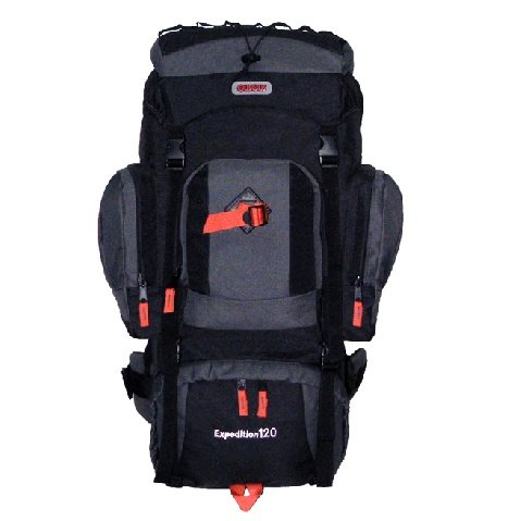 CUSCUS 7500ci 120L Internal Frame Hiking Camp Travel Backpack Navy Black -  Buy Online in UAE.  b3e6590e7f5a5