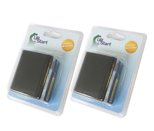 2 Pack - Replacement for Canon BP-941 Battery - Compatible with Canon BP-970 Digital Camcorder Battery (7500mAh 7.4V Lithium-Ion)