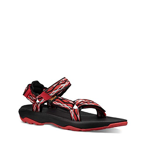 Pictures of Teva Boys' T Hurricane XLT 2 Sport 1019390T Delmar Black/Red 6