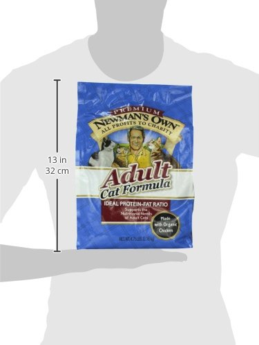 Newman's Own Adult Cat Formula, 4.75-Pound Bag by Newman's Own (Image #3)