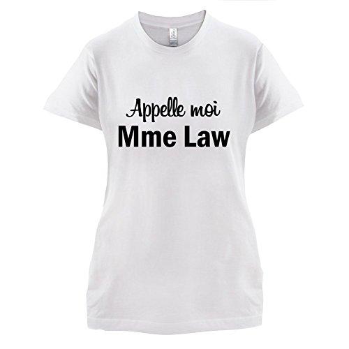 Apelle Moi Madame Law - Femme T-Shirt - Blanc - XXL