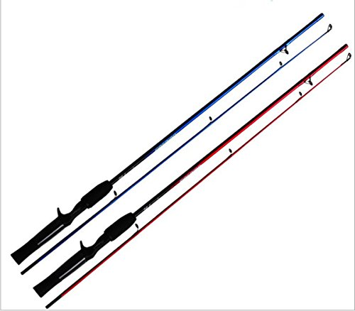 KENGEL Lure Fishing Rods Child Fishing Rods Beginners Fishing Rods (blue)