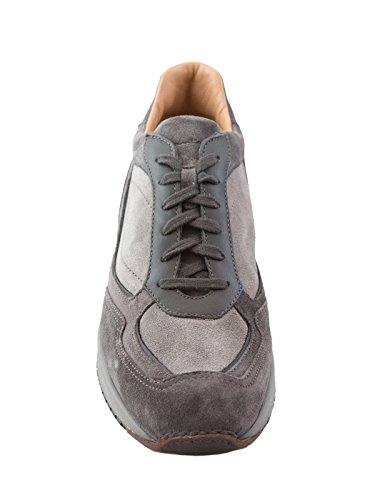 Mod Santoni Grigio Uomo Daytona Camoscio Sneaker UPnPWSqvTR