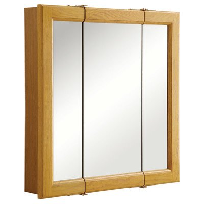 design-house-545277-claremont-honey-oak-tri-view-medicine-cabinet-mirror-with-3-doors-24-inches-by-2