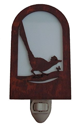 Rustic Roadrunner Nightlight Made in USA