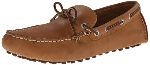 Sperry Top-Sider Hombre Hamilton Driver 1 Eye Loafers, Marrón Marrón