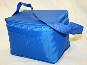 Insulated Cooler Lunch Bag- Six Pack Size-Blue Color