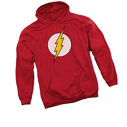 - Logo -- The Flash -- DC Comics Adult Hoodie Fleece Sweatshirt, XX-Large