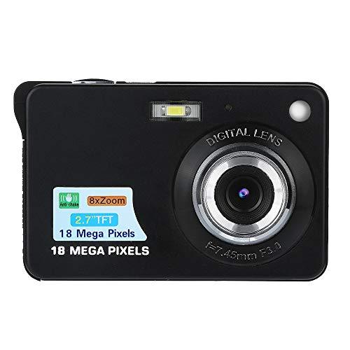 Cuifress 2.7HD Screen Digital Camera 18MP Anti-Shake Face Detection Camcorder Blank