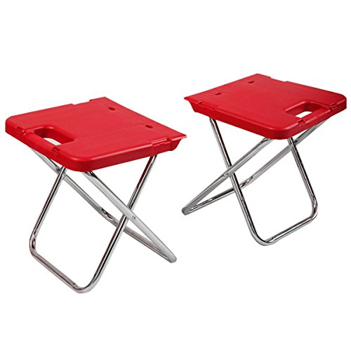 CHOOSEandBUY Multi Functional Rolling Picnic Cooler w/Table & 2 Chairs - RED by CHOOSEandBUY (Image #7)