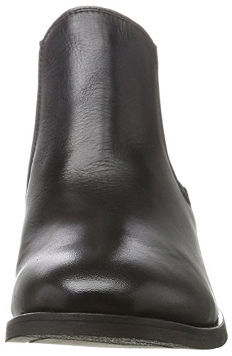 Leather Leather Leather Nero Stivali Donna Noos FEMME Chelsea Chelsea Chelsea Boot Black Sfbeathe SELECTED F7xRqO6