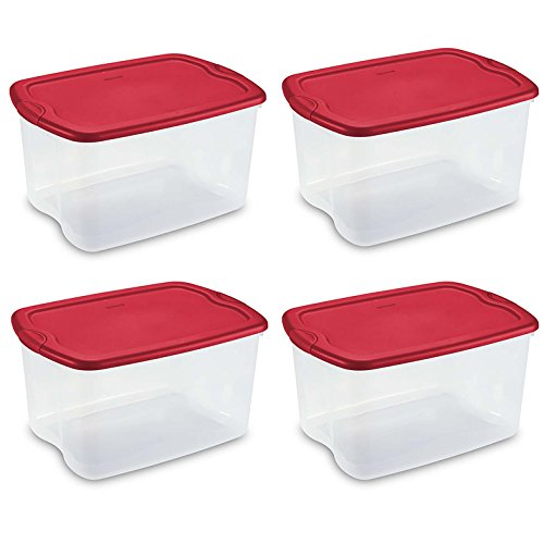Sterilite Quart Latch Carry Storage