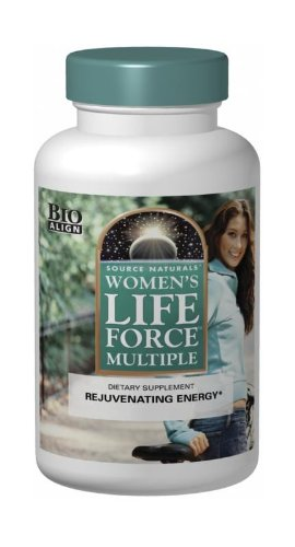 Multivitamin 180 Tabs Naturally Vitamins (Source Naturals Women's Life Force Multiple, 180 Tablets)