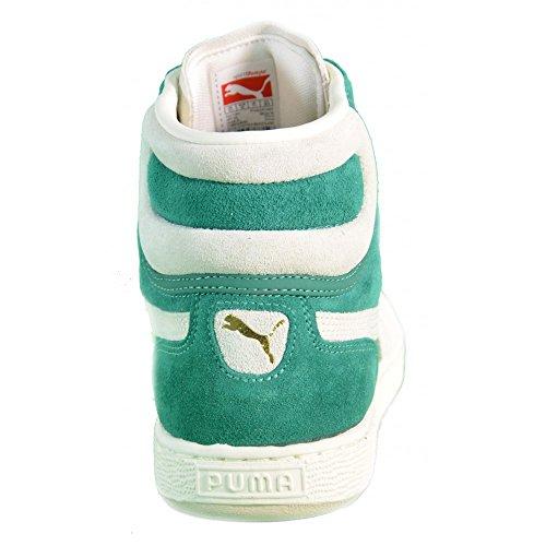 Puma - Puma First Round NS Zapatos Deportivos Verde Cuero 355344 Verde