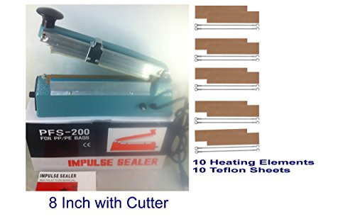 8 inch impulse sealer with cutter - 9