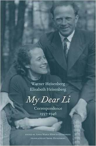 amazon my dear li correspondence 1937 1946 werner heisenberg
