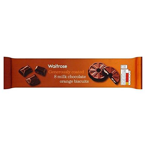 Chocolate Con Leche Y Naranja Torta De Frutas 180G Anillo Waitrose (Paquete de 4)