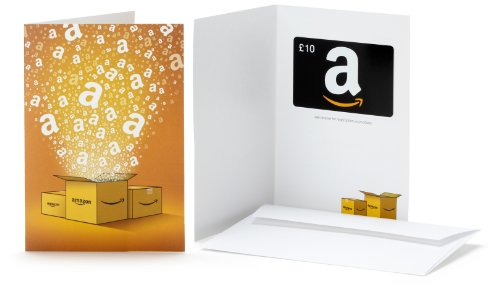 Amazon.co.uk Gift Card - In a Greeting Card - FREE One-Day Delivery