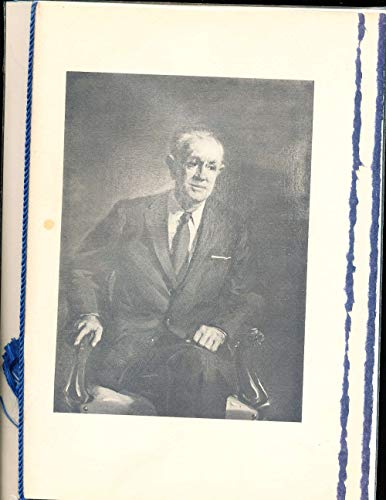 Wallace Wade, 1967 Duke Recognition Dinner 26 page Program