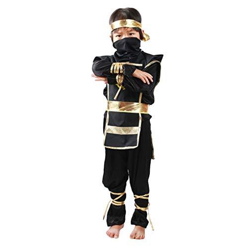 Irene Kids Warrior Cosplay Costume Children Halloween Party Game Performance Clothing Black