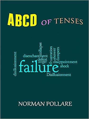 Telecharger Le Livre En Anglais Abcd Of Tenses En