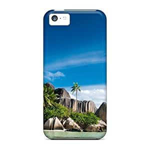 Awesome Seychelles Isls Flip Case With Fashion Design For Iphone 5c