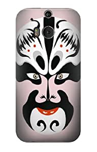 S0767 Chinese Theater Mask Case Cover for HTC ONE M8
