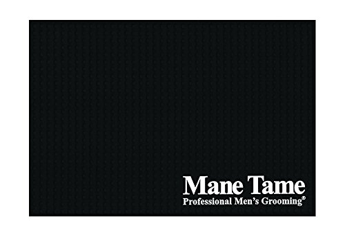 """Price comparison product image Mane Tame Professional Barber Station Mat 16"""" x 11"""" x .25"""" - Durable, Heavy-Duty, Sleek Design. Comfortably fits most barber workstations!"""