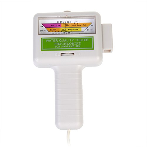 Water Quality PH/CL2 Chlorine Tester Level Meter PH Tester by Thailand