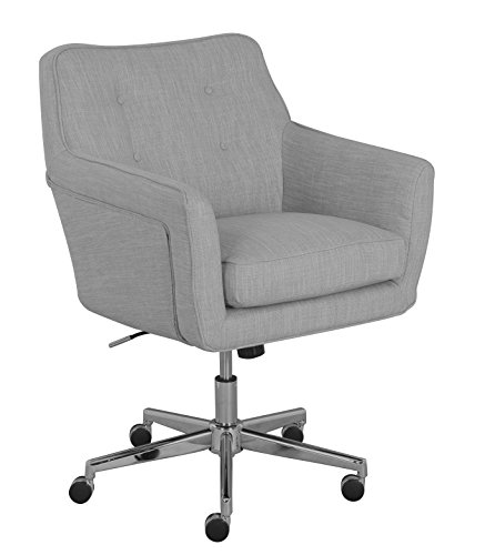 Serta Ashland Home Office Chair, Light Gray