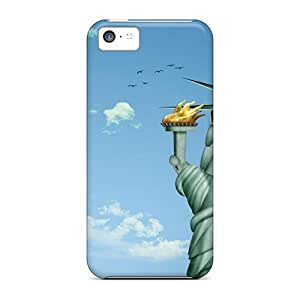 Hot Hga29542pCHb Cases Covers Protector For Iphone 5c- Funny 3d Cartoon