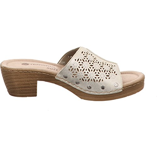 D6951 Femmes Blanc 90 ice Mules Remonte 90 Ice 4Iqwd66fx
