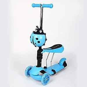 Childrens Scooter 3 en 1 Patinete para Niño Equilibrio de ...
